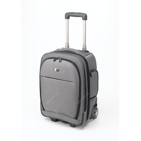 Case Logic Cestovní kufr na kolečkách malý / CL-LLR18S / stříbrn    Mironet.cz