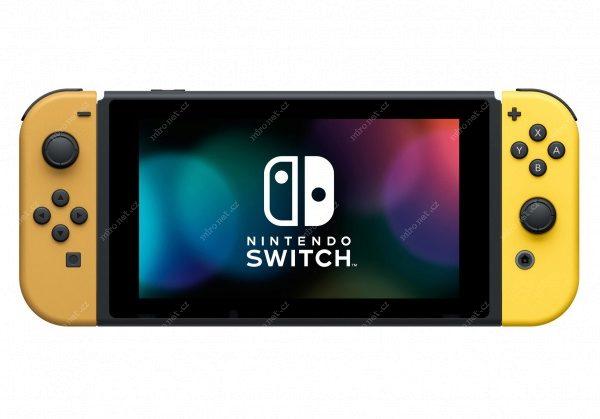 Nintendo Switch + Joy-Con Yellow (žlutá) + Pokémon Let s Go Evee ... 8e9e2d76057
