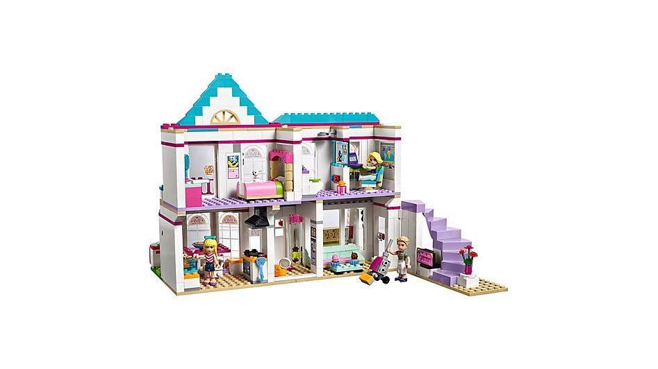 9a69b178a LEGO Friends Stephanie a její dům / 622 kostek / 6-12 let | Mironet.cz