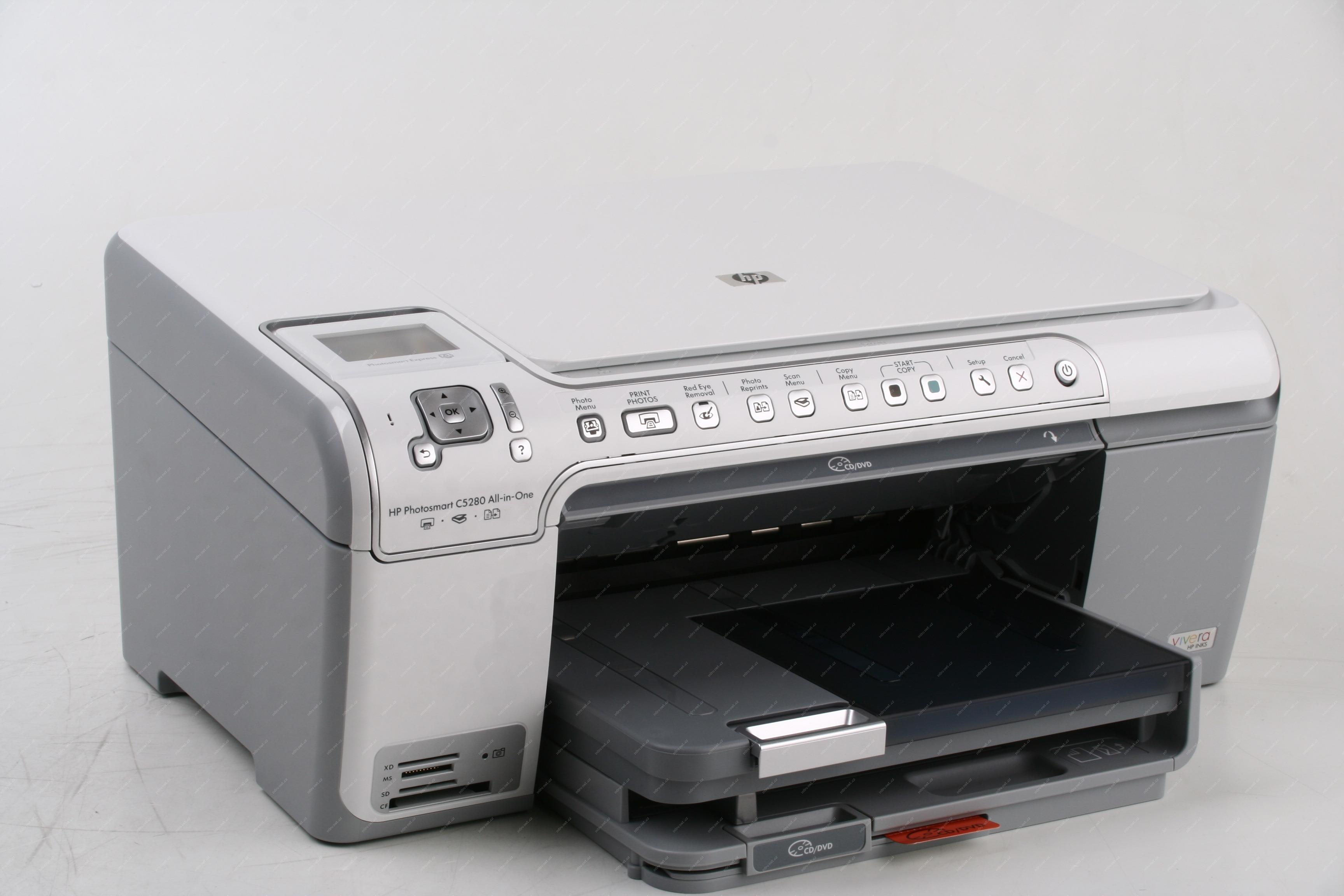 70337 - Multifunkční tiskárna HP Photosmart C5280