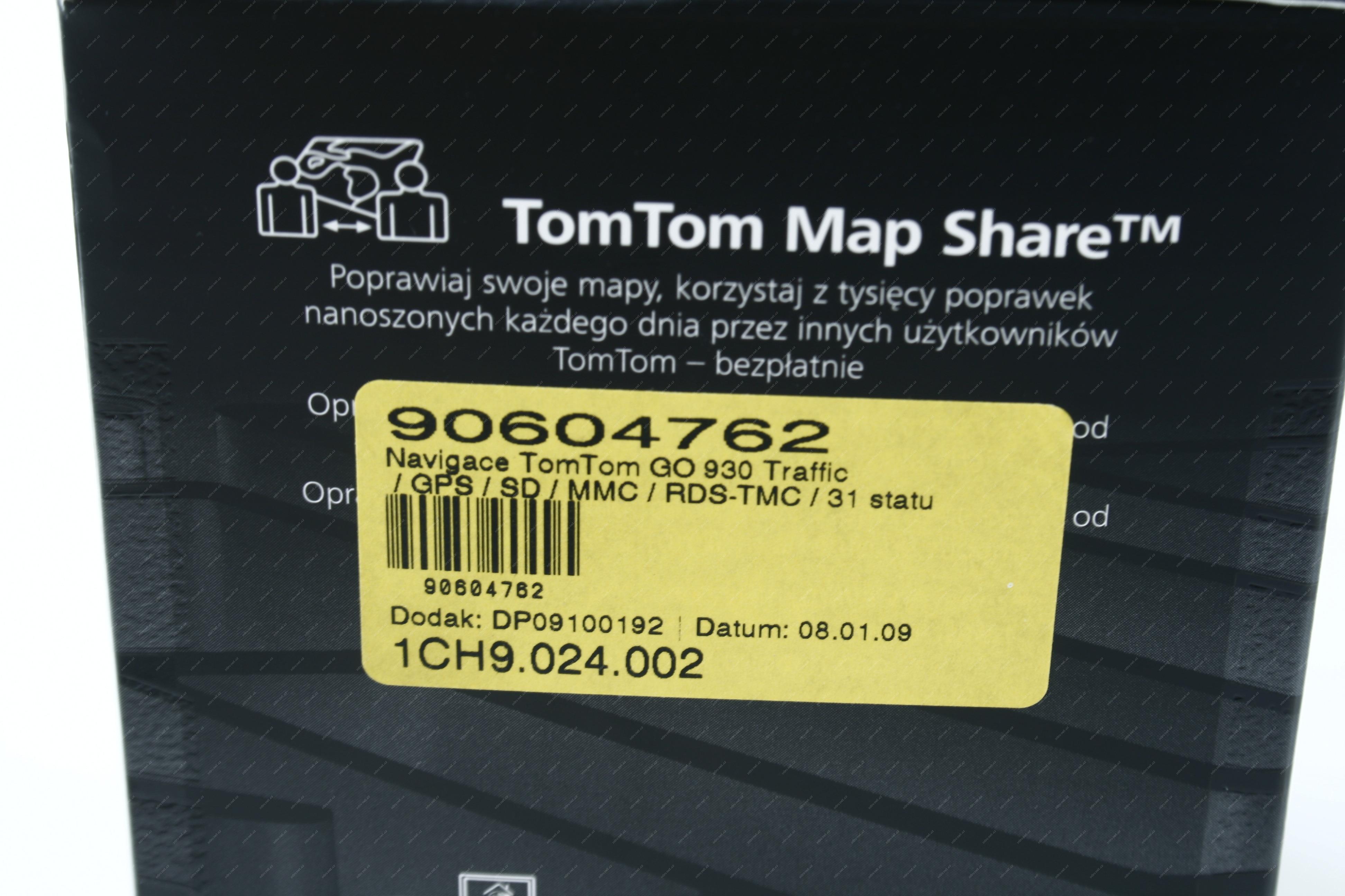Navigace TomTom GO 930 Traffic | Mironet cz