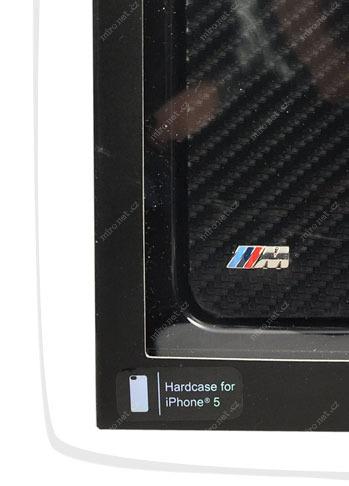 39673644 - BMW M Edition Carbon zadní kryt pro Apple iPhone 5 64e43e9e761