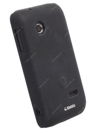 Krusell zadní kryt Colorcover pro Sony Xperia Tipo   černá metalí ... dfe541ee8fb