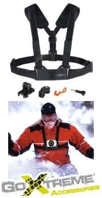 602aa270838 58744423 - EasyPix GoXtreme popruhový držák kamery na tělo