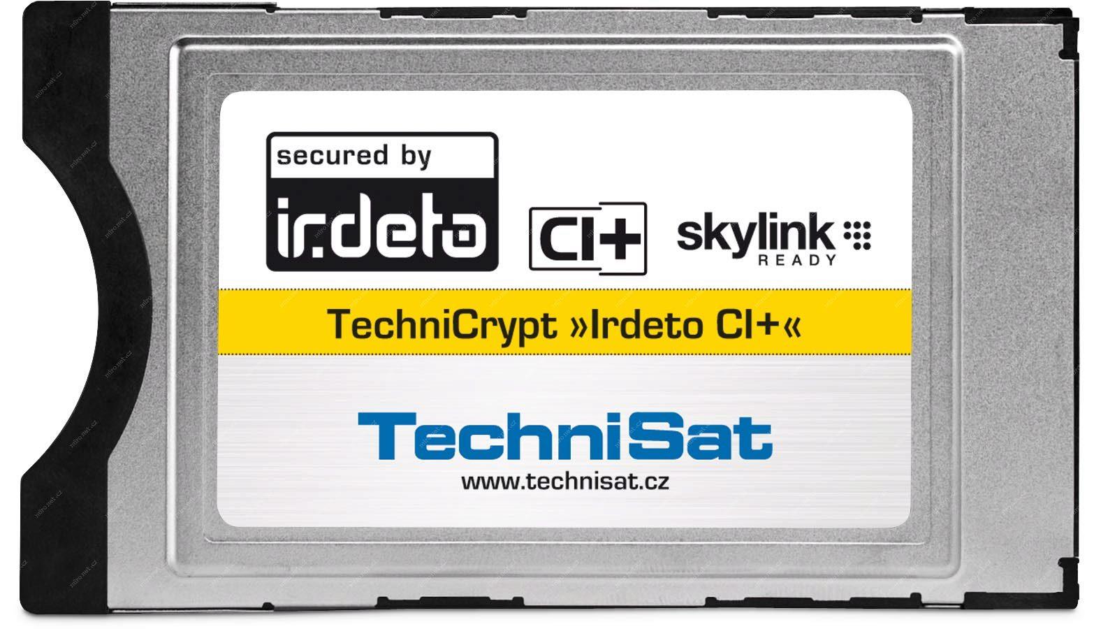 346d117a9 TECHNISAT CA modul TechniCrypt IRDETO CI+ Skylink (CZ/SK) | Mironet.cz