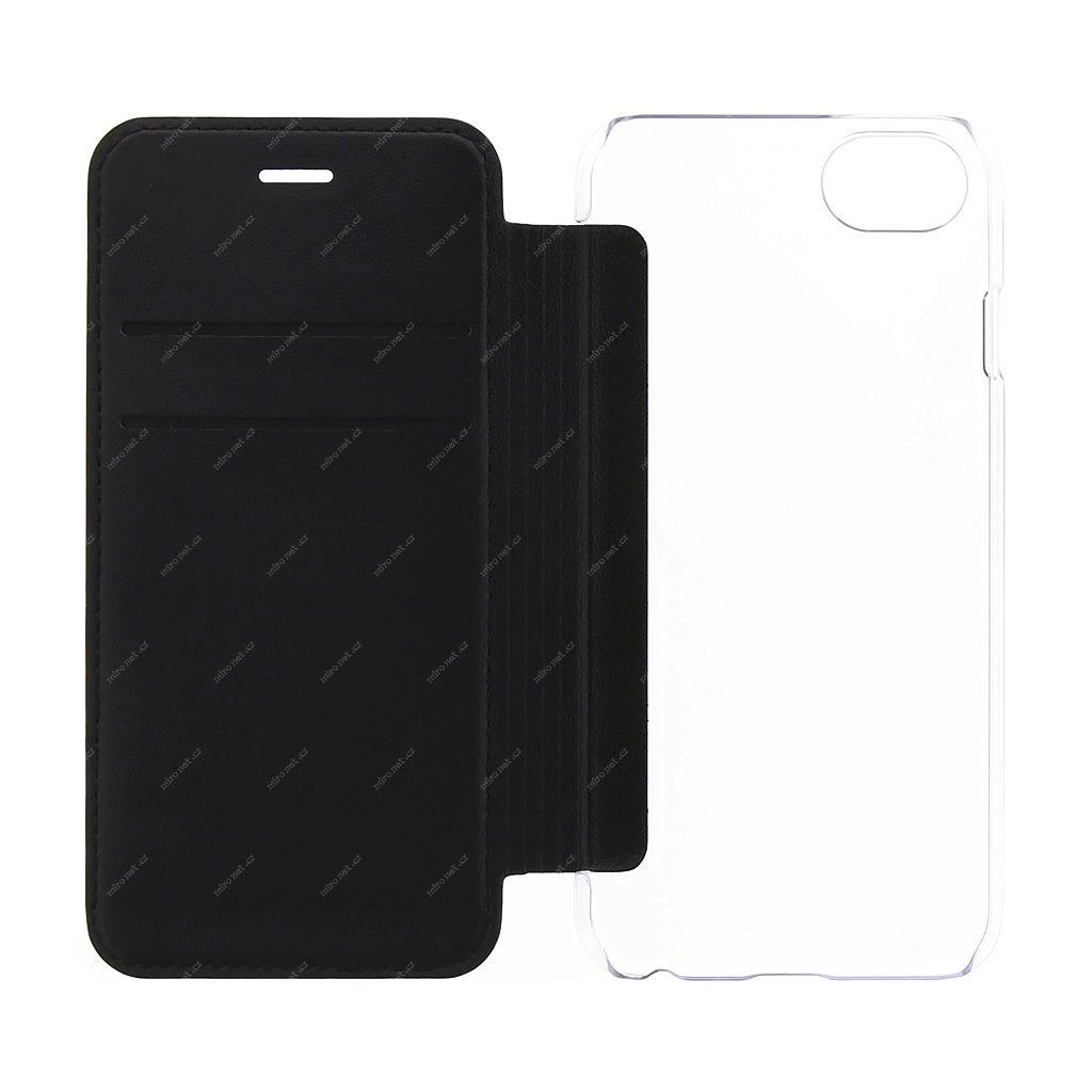94d33cf17ce 69326045 - GUESS Flower Desire Book Pouzdro pro Apple iPhone 7 & 8 černá