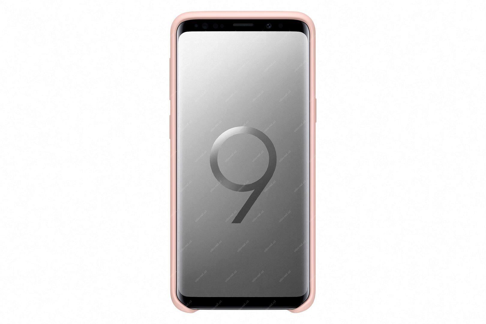 69340797 - Samsung Silikonový zadní kryt pro Samsung Galaxy S9 růžová c555ab64e95
