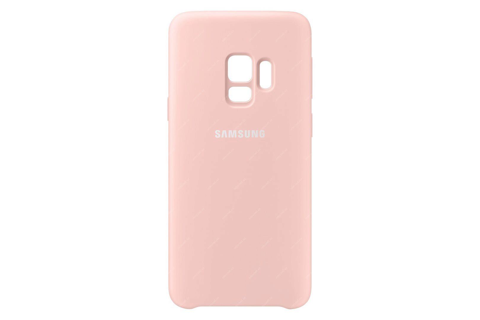 69340799 - Samsung Silikonový zadní kryt pro Samsung Galaxy S9 růžová 4134811900d