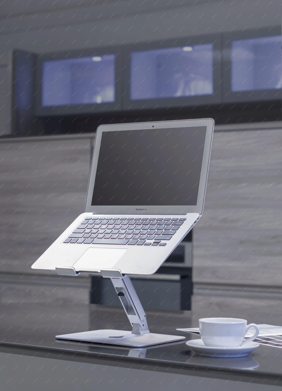 771848b840 69388027 - Desire 2 Supreme Plus Nastavitelný hliníkový podstavec pod  notebook černá