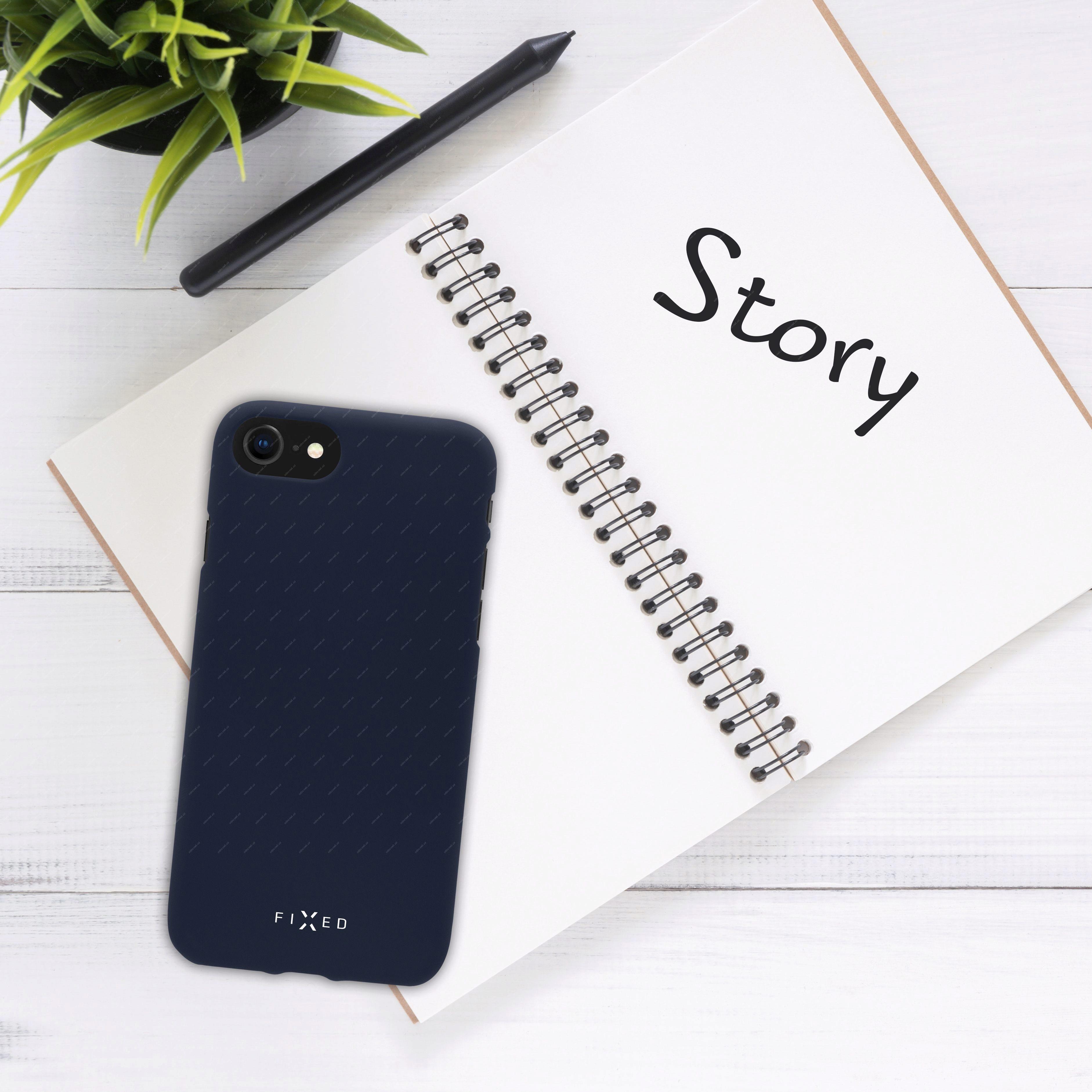 69415954 - FIXED Story Zadní silikonový kryt pro Huawei Y6 Prime (2018)  modrá aba63182d03