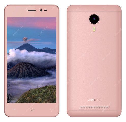 8710126cafb3 Mobilní telefon - Aligator S5060 Duo IPS růžová   CZ   5.0
