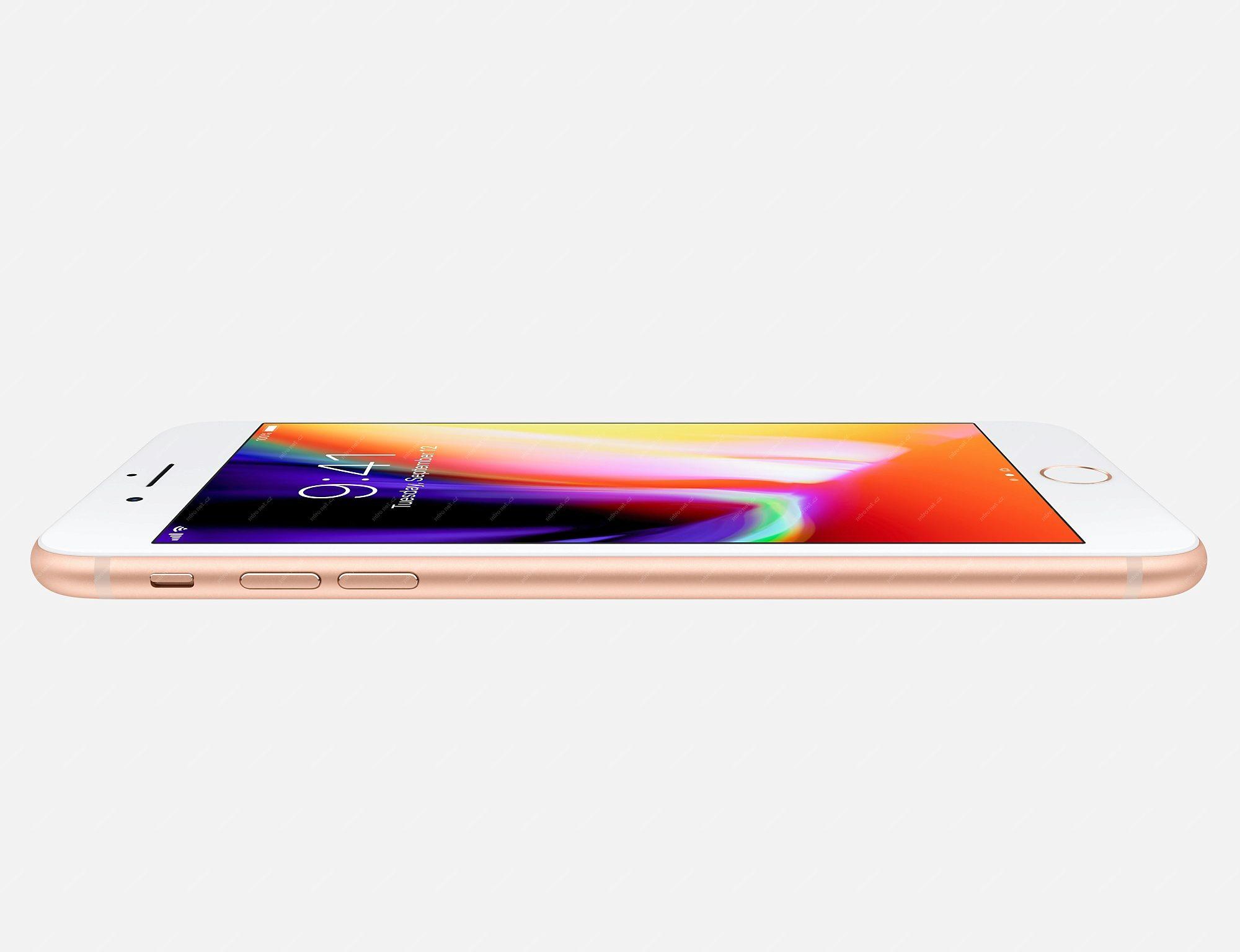 Mobilní telefon - Apple iPhone 8 Plus - 64GB stříbrná   iOS12 ... 707b0e016e3