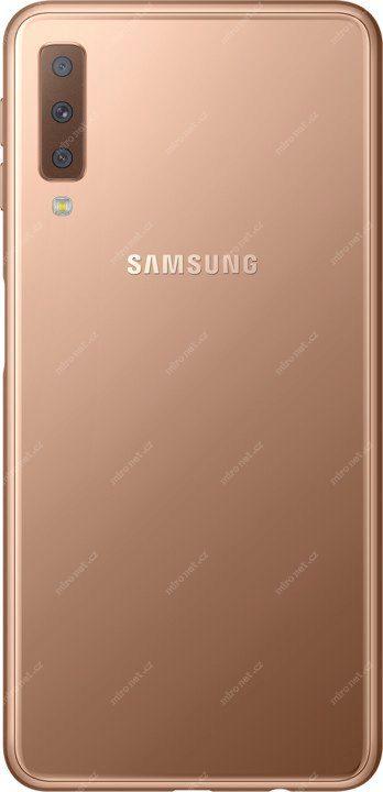 11252e7c8 Mobilní telefon - SAMSUNG Galaxy A7 SM-A750 64GB zlatá / EU / 6&q ...