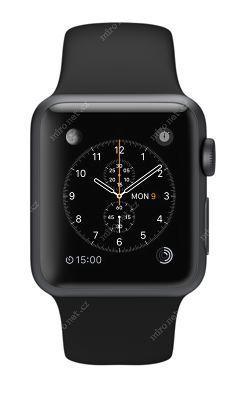 Chytré hodinky Apple Watch SPORT Space Gray   42mm   140–210mm ... 36546edba30
