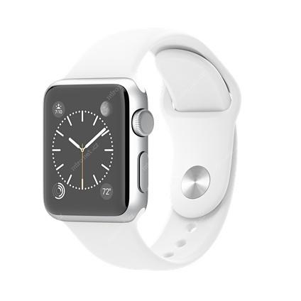 a33a56421 Chytré hodinky Apple Watch SPORT Silver / 38mm / 130–200mm / stří ...