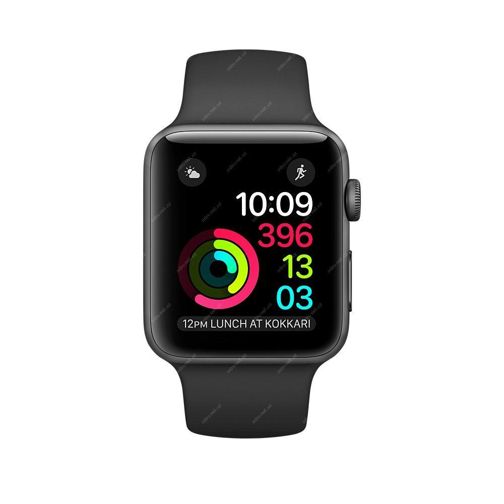 Chytré hodinky Apple Watch 2 SPORT Space Grey   42mm   140–210mm ... 02331f05dc7