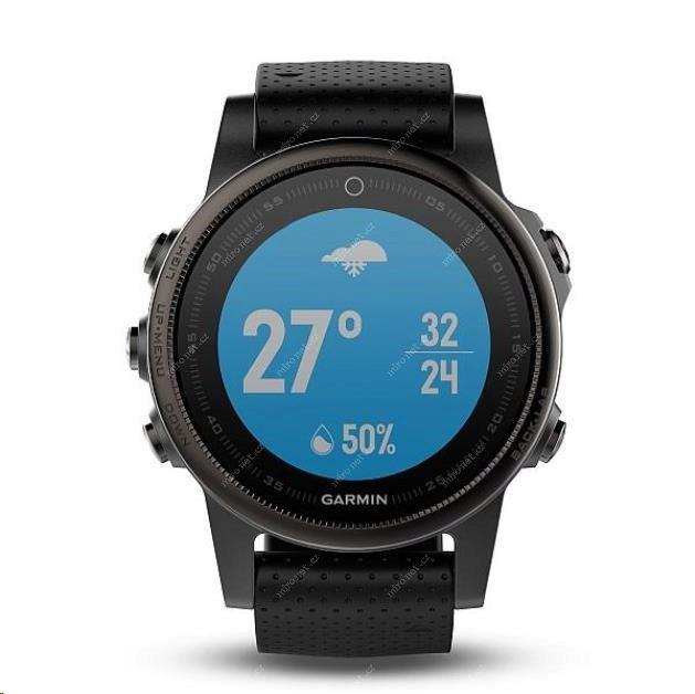 58763170c Chytré hodinky Garmin Fenix5S Sapphire Gray Optic černá / GPS chy ...