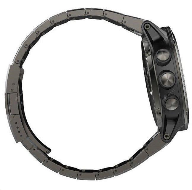 88f532099 Chytré hodinky Garmin Fenix5X Sapphire Gray Optic černá / GPS chy ...