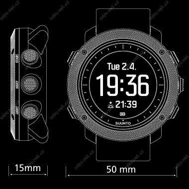 Chytré hodinky SUUNTO Traverse Alpha Concrete   Sportovní hodinky ... 8316468233d