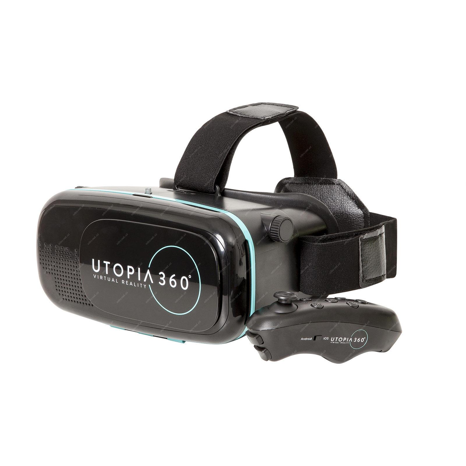 359cf6176 Pro virtuální realitu RETRAK VR Headset Utopia 360 / Brýle pro vi ...