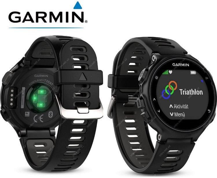 Garmin Forerunner 735XT černá   chytré GPS sportovní hodinky ... d2bef7d735