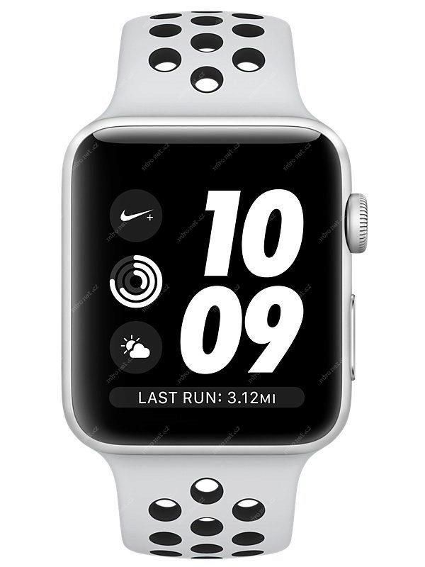 Chytré hodinky Apple Watch Nike+ GPS   38mm   130-200mm   stříbrn ... ff4e3713a6