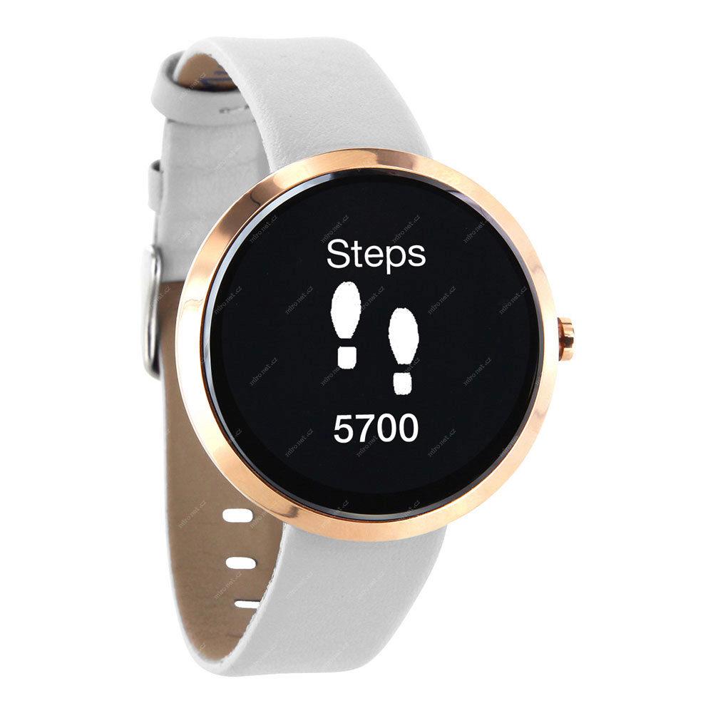 68f17b4556 Chytré hodinky Xlyne Siona XW Fit bílá   chytré hodinky