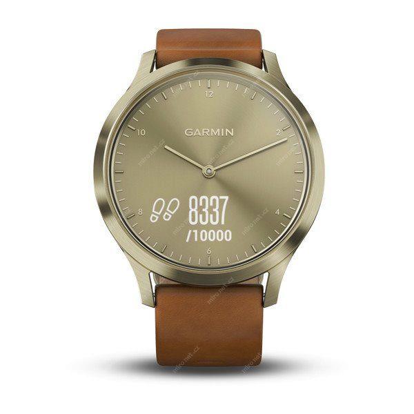 69421627 - Chytré hodinky Garmin VivoMove Optic Premium Gold (vel. S M) 44b821daf09