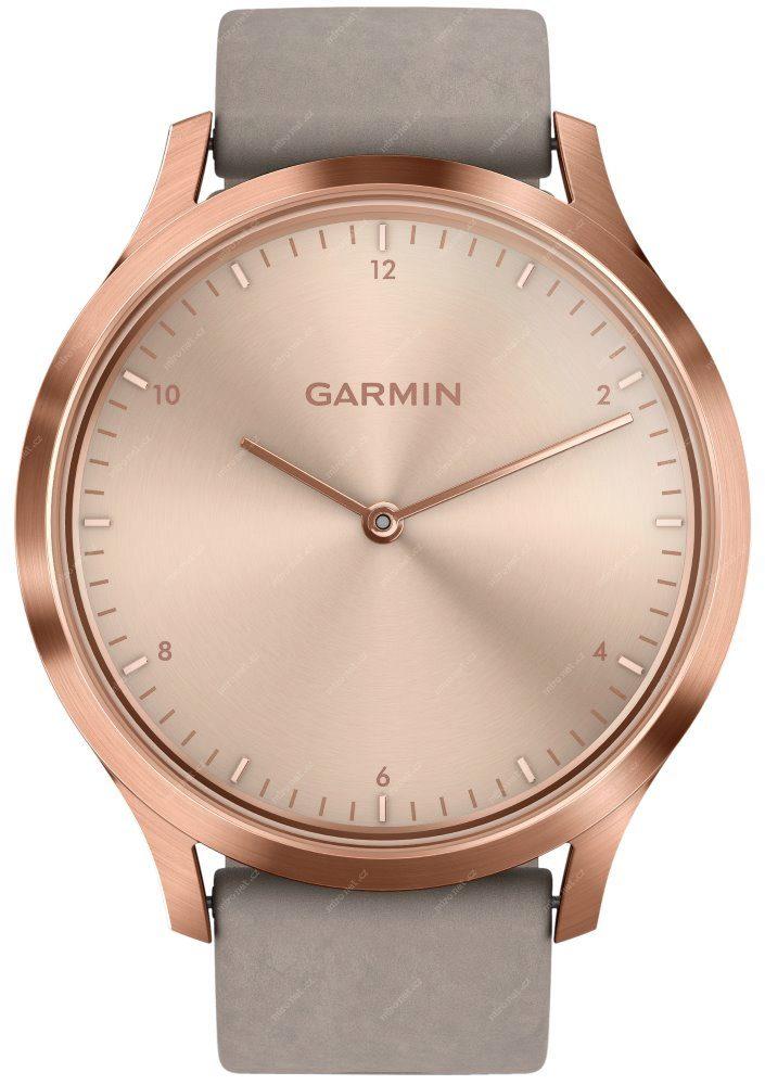 Chytré hodinky Garmin VivoMove Optic Premium Rose Gold   chytré h ... f61f9e28c43