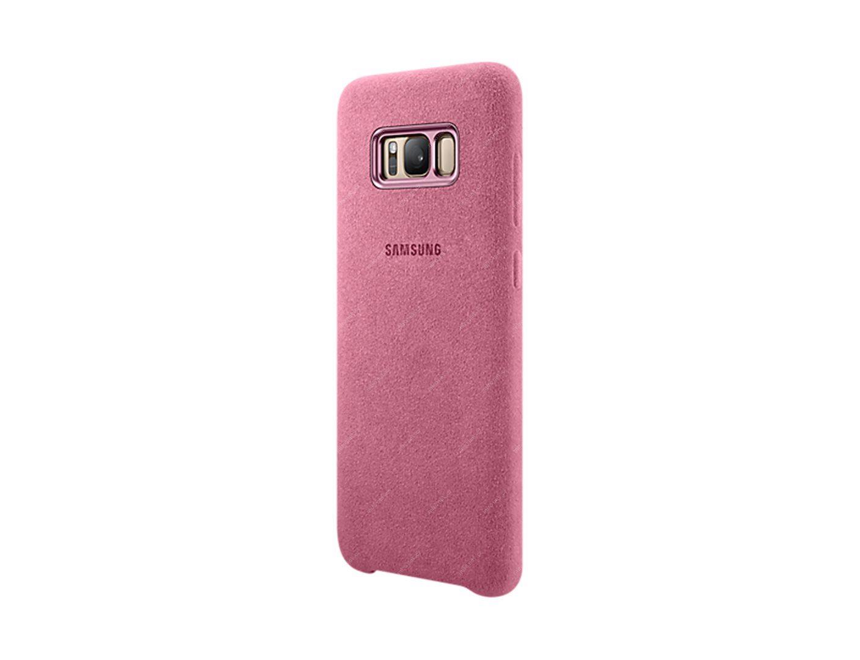 69286505 - SAMSUNG Alcantara Cover zadní kryt pro Samsung Galaxy S8+ (G955)  růžová 9e02827b20b