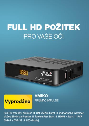 AMIKO DVB-S2 přijímač Impulse
