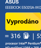 ASUS Eeebook E502SA-XX016T