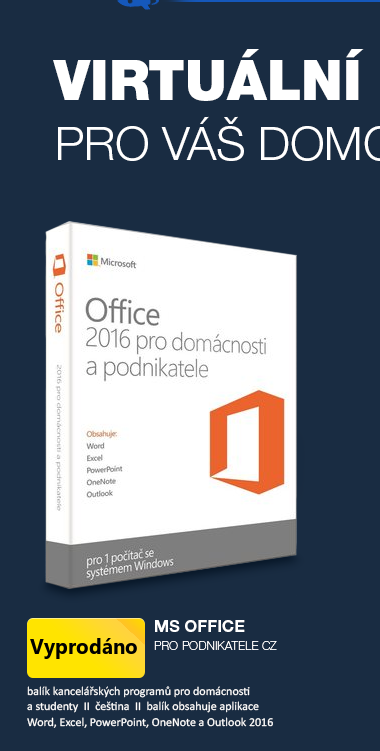 MS Office 2016 pro podnikatele CZ