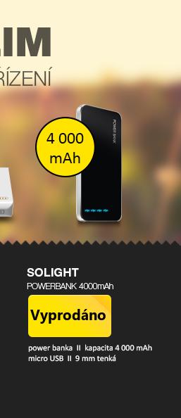 Solight powerbank 4000mAh