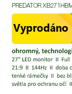 "27"" Acer Predator XB271Hbmiprz"
