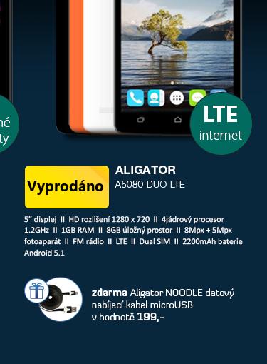 Aligator A5080 Duo LTE
