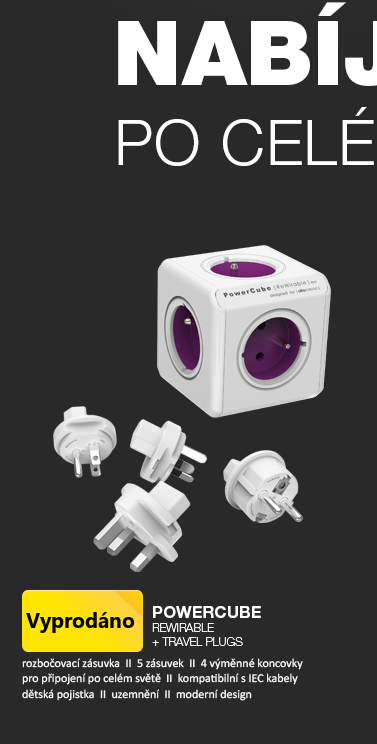 PowerCube Rewirable + TRAVEL PLUGS