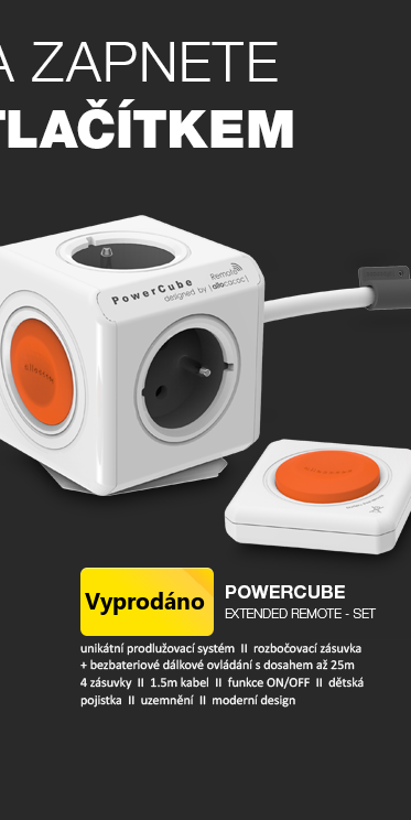 PowerCube EXTENDED REMOTE - SET