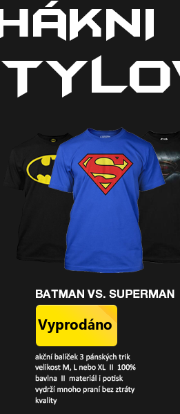SUPER Bundle Batman vs. Superman pánské