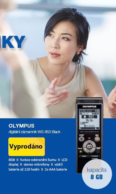 Olympus Digitální záznamník WS-853 Black