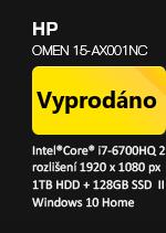 HP Omen 15-ax001nc