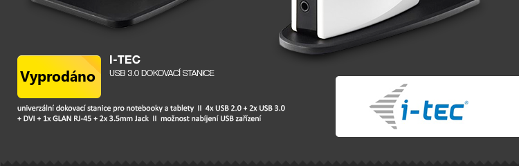 i-Tec USB 3.0 dokovací stanice