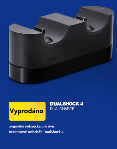 PS4 DualShock 4 sony nabíječka