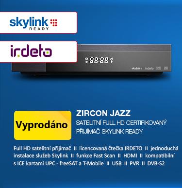 Zircon Jazz - satelitní Full HD