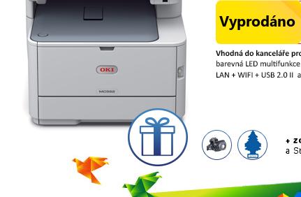 Multifunkční tiskárna OKI MC562dnw