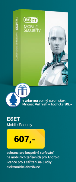 AKCE 3za2 ESET Mobile Security