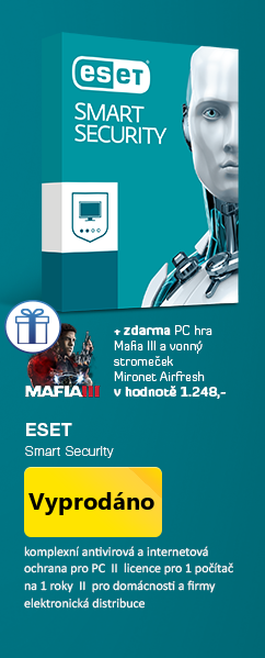AKCE 3za2 ESET Smart Security 10