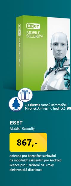 AKCE 3za2 ESET Mobile Security