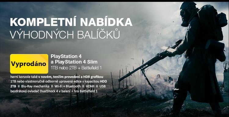 kompletní nabídka Battlefield edicí