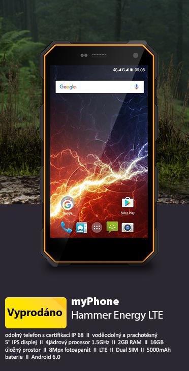 myPhone Hammer Energy LTE oranžová